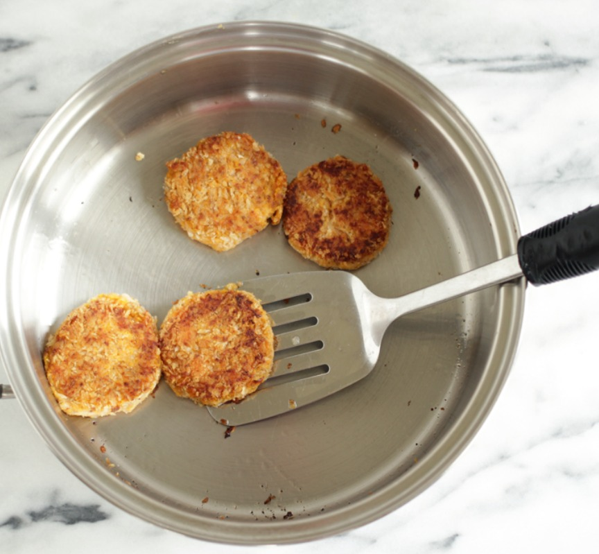 "Nutra Ease 10.5"" Skillet with Sweet Potato Sliders"