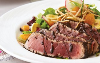 Ahi Tuna and Cilantro Salad