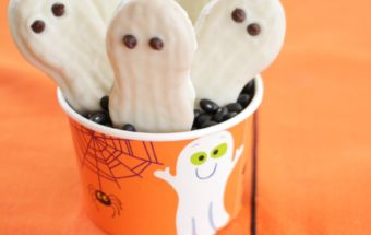 Halloween Ghost Cookies by Nutra Ease