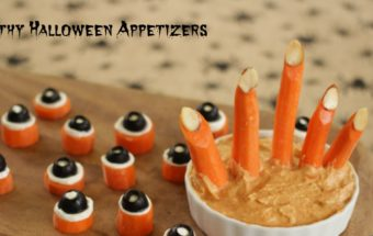 Healthy Halloween Appetizers and Ghoulish Hummus