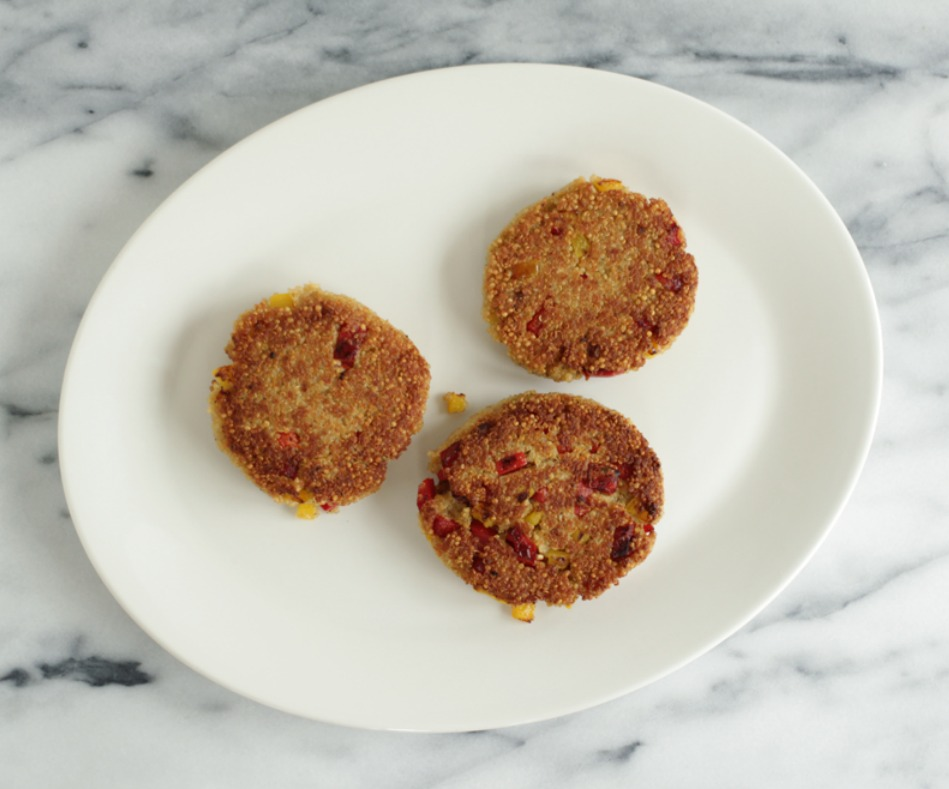 Quinoa Cakes by Nutra Ease