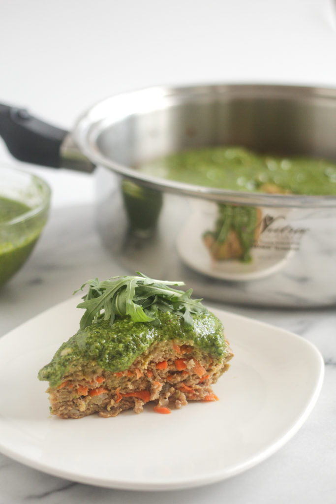 Nutra Ease Recipe for Stovetop Turkey Meatloaf