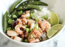 Chinese Shrimp & Snap Peas